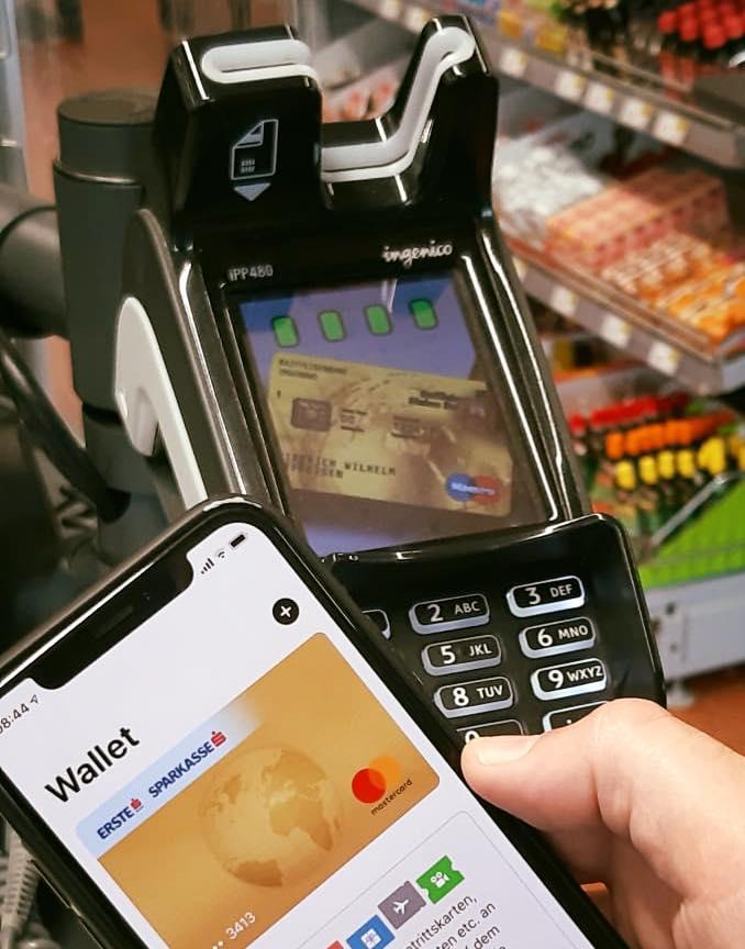 Eine neue Aera wurde eingeläutet - Bequem per Handy bezahlen! ;-)